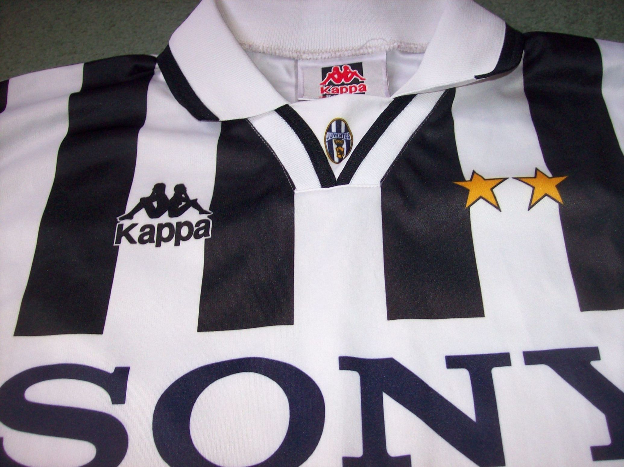 13877b6d4 1995 1996 Juventus Del Piero Classic Football Shirt XL Italy Vintage Soccer  Jersey